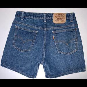 Vintage Levi's Orange Tab Denim Shorts